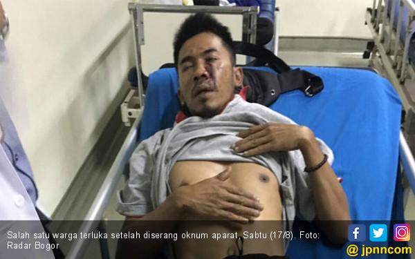 Oknum Aparat Serang Warga, Tiga Orang Terluka - JPNN.com