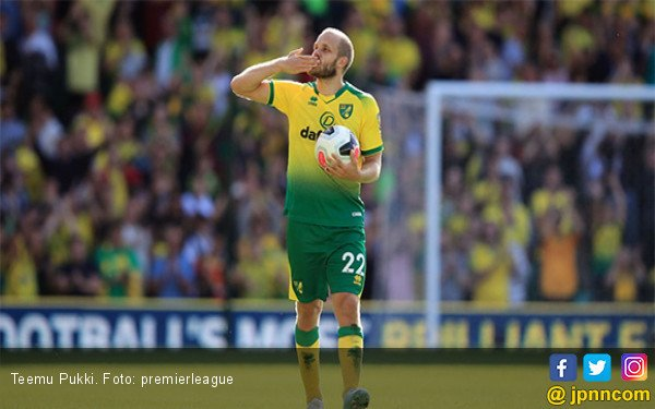 Teemu Pukki, King of The Match yang Mengukir Sejarah di Premier League - JPNN.com