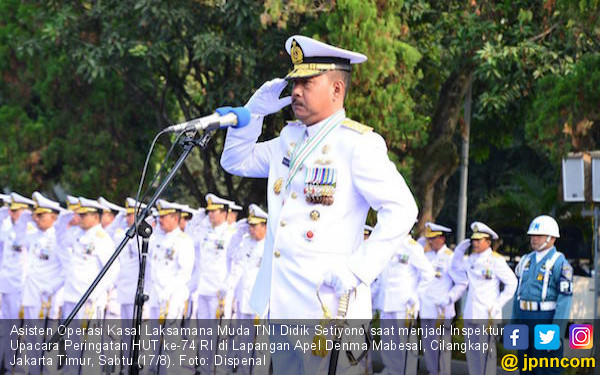 Harapan Laksamana Siwi Pada Peringatan HUT Ke-74 RI - JPNN.com
