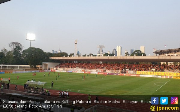 Persija Jakarta Bungkam Kalteng Putra Tiga Gol Tanpa Balas - JPNN.com