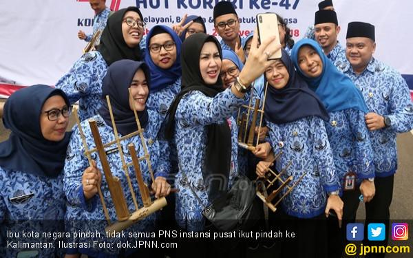 Ibu Kota Pindah, Hanya 600 Ribu PNS Instansi Pusat Harus Ikut ke Kalimantan - JPNN.com