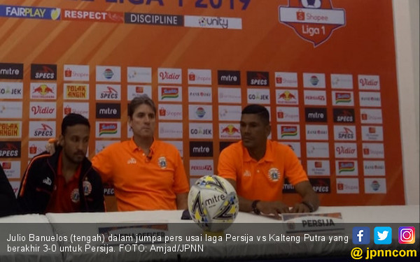 Banuelos Yakin Persija Jakarta Akan Kembali ke Papan Atas - JPNN.com