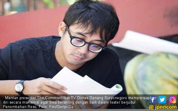 Demi Panembahan Reso, Dimas Danang Suryonegoro Latihan Privat Bareng Istri WS Rendra - JPNN.com