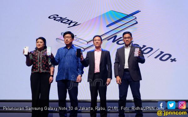 Samsung Galaxy Note 10 Melantai di Indonesia, Cek Spesifikasi dan Harganya! - JPNN.com