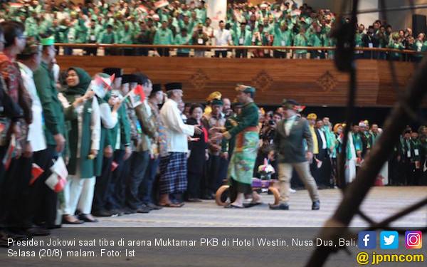 Jokowi: Apa Alasan PKB Gelar Muktamar di Bali? - JPNN.com