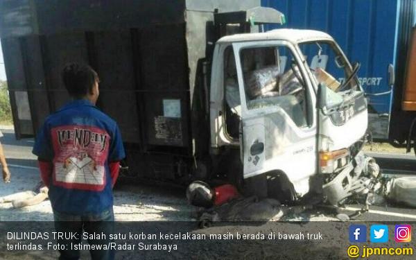 Pak Miskun Meninggal Terlindas Truk, Astaga Kondisinya - JPNN.com