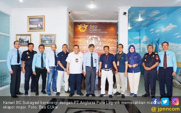 Strategi Kanwil BC Subagsel - PT Angkasa Pura Logistik Pecahkan Masalah Ekspor Impor - JPNN.com