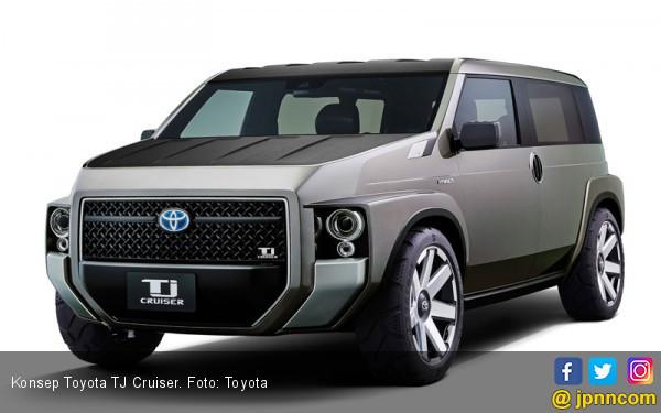 Konsep Toyota TJ Cruiser Segera Masuk Jalur Produksi - JPNN.com
