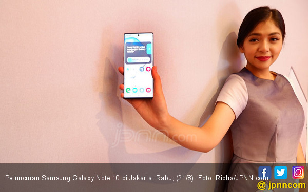 Beli Samsung Galaxy Note 10 Ada Program Tukar Tambah dan Cashback - JPNN.com