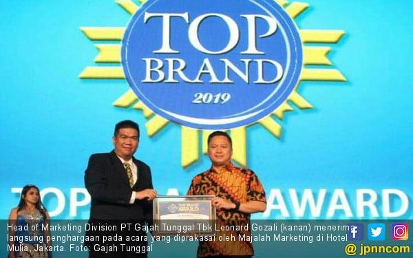 Raih Penghargaan Lagi, GT Radial dan IRC Sabet TOP Brand Award 2019 - JPNN.com