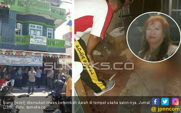 Pemilik Ipung Salon Ditemukan Tewas Bersimbah Darah di Rumahnya - JPNN.com