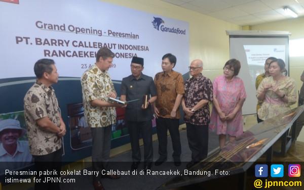 Gandeng GarudaFood, Pabrik Cokelat Kedua Barry Callebaut di Bandung Mulai Berproduksi - JPNN.com
