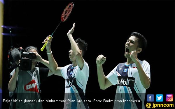 China Open: FajRi Tembus 8 Besar, Vito Kandas - JPNN.com