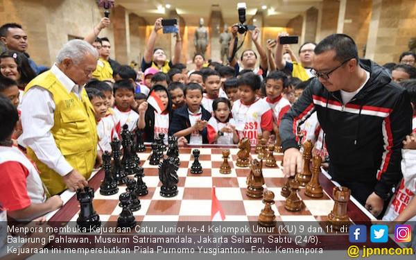 Menpora Apresiasi Penyelenggaraan Kejuaraan Catur Purnomo Yusgiantoro Center - JPNN.com