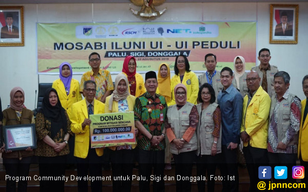 Ikhtiar ILUNI UI Membangun Masyarakat Palu, Sigi dan Donggala - JPNN.com