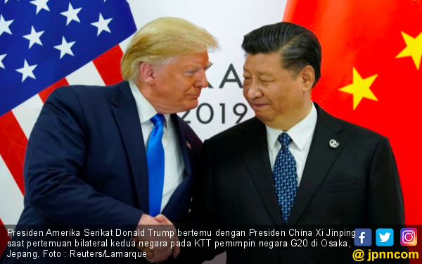 Masa Jabatan Tak Lama Lagi, Donald Trump Masih Bisa Bikin Tiongkok Keki - JPNN.com