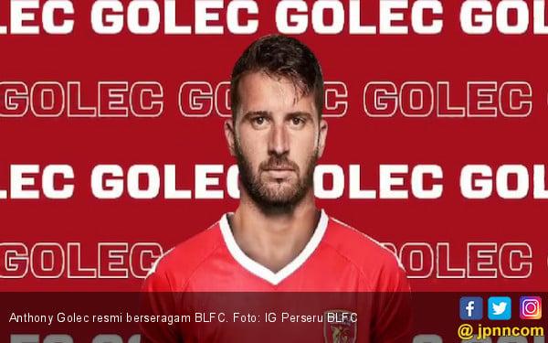 Anthony Golec Resmi Berkostum Perseru BLFC hingga Akhir Musim - JPNN.com