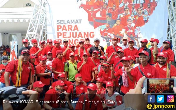 Relawan JO'MARI Flobamora Usulkan Lima Kandidat Menteri - JPNN.com
