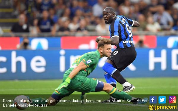 Inter Milan Pesta Gol, Romelu Lukaku Luar Biasa - JPNN.com