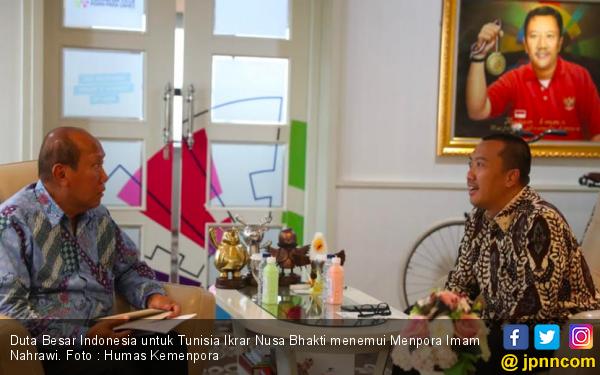Terima Dubes Indonesia untuk Tunisia, Menpora Ingin Kerja Sama Bidang Olahraga Terjalin Baik - JPNN.com