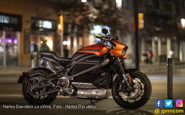 Harley-Davidson Resmikan LiveWire Menjadi Brand Mandiri Sepeda Motor Listrik - JPNN.com