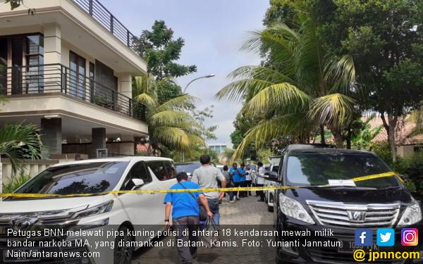 Lihat, Aset Bandar Narkoba Rp 28,3 Miliar Diamankan BNN, Termasuk Rumah Mewah - JPNN.com