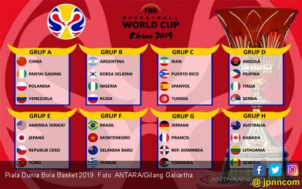 Besok, Piala Dunia Bola Basket 2019 Dimulai - JPNN.com