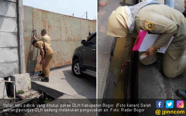 DLH Bogor Tutup Dua Pabrik yang Mencemari Sungai Cileungsi - JPNN.com