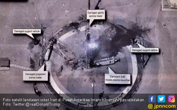 Iran Akui Roket Antariksanya Meledak karena Kesalahan Teknis - JPNN.com