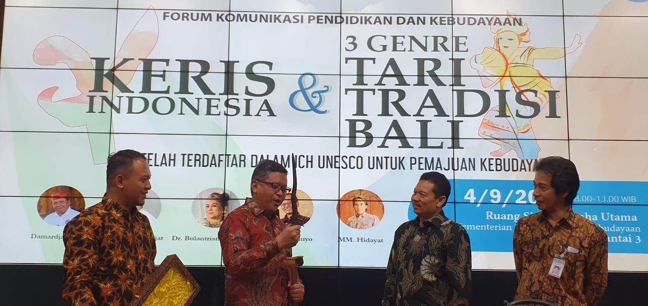 Senapati Nusantara Usulkan 25 November Jadi Hari Keris Nasional - JPNN.com