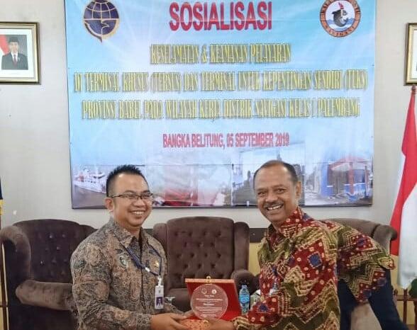 Ditjen Laut Kemenhub Gelar Sosialisasi Pentingnya Peran Kenavigasian di Bangka - JPNN.com