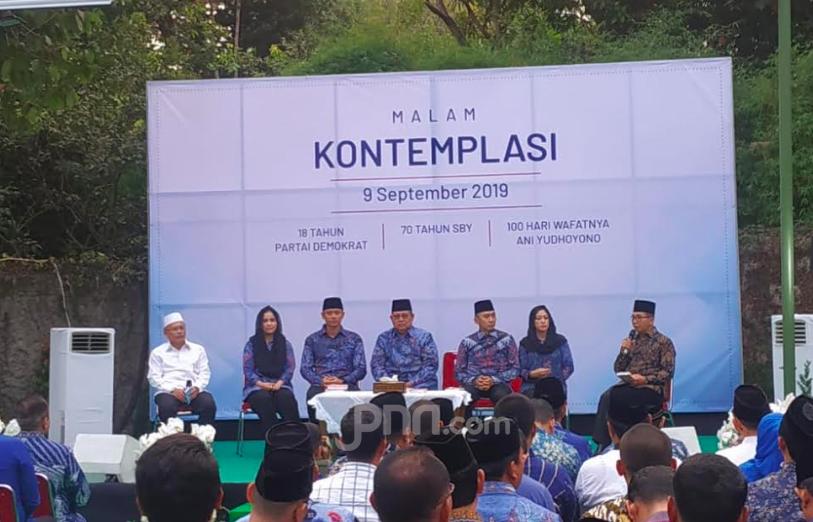 Di Puri Cikeas, SBY Gelar Malam Kontemplasi Bersama Pengurus Demokrat - JPNN.com