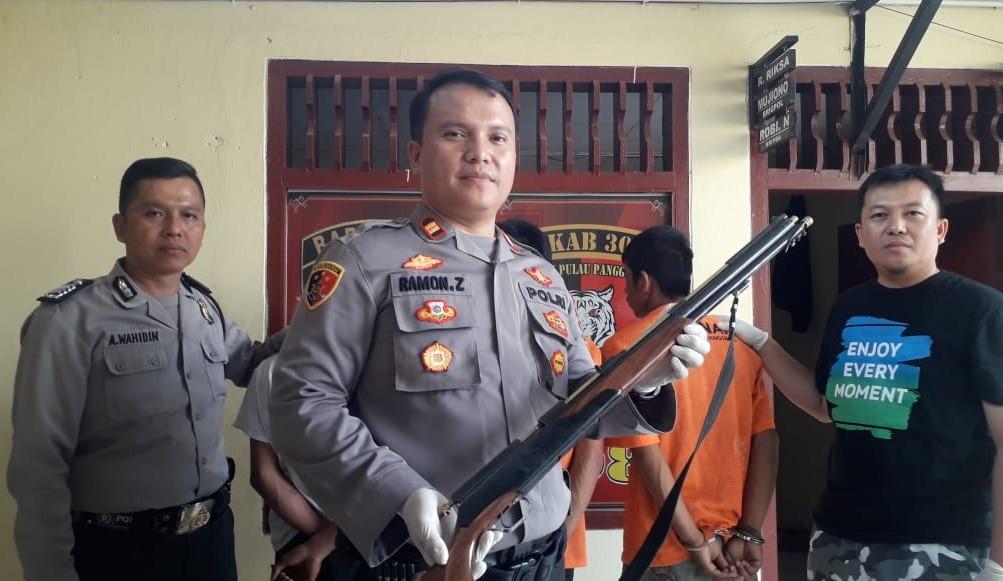 Tiga Begal Sadis Penembak Punggung Pengendara Motor Diringkus, Nih Orangnya - JPNN.com