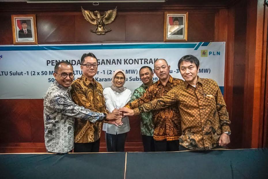 PT PP Tandatangani Kontrak PLTU NTT dan Sulut Senilai Rp2,1 Triliun - JPNN.com