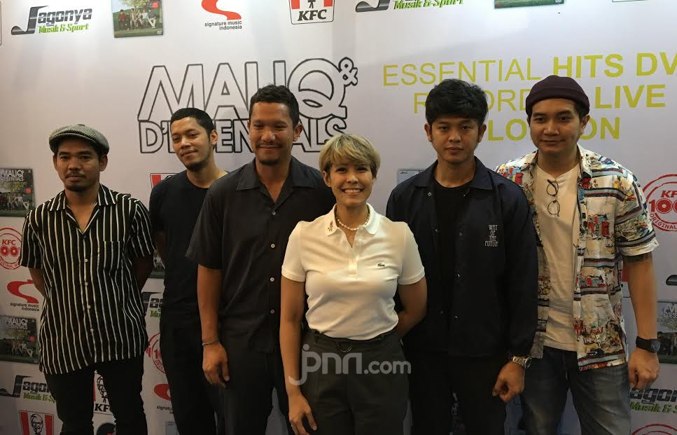 Maliq & D'Essentials Bikin DVD Live di Abbey Road Studio - JPNN.com