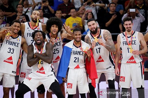 Kalahkan Australia, Prancis Back to Back Raih Perunggu di Piala Dunia FIBA - JPNN.com