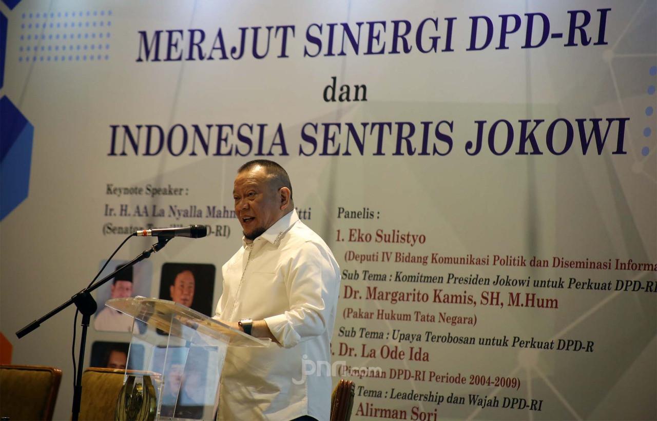 Pimpinan DPD Temui Jokowi, Ini Hasilnya - JPNN.com
