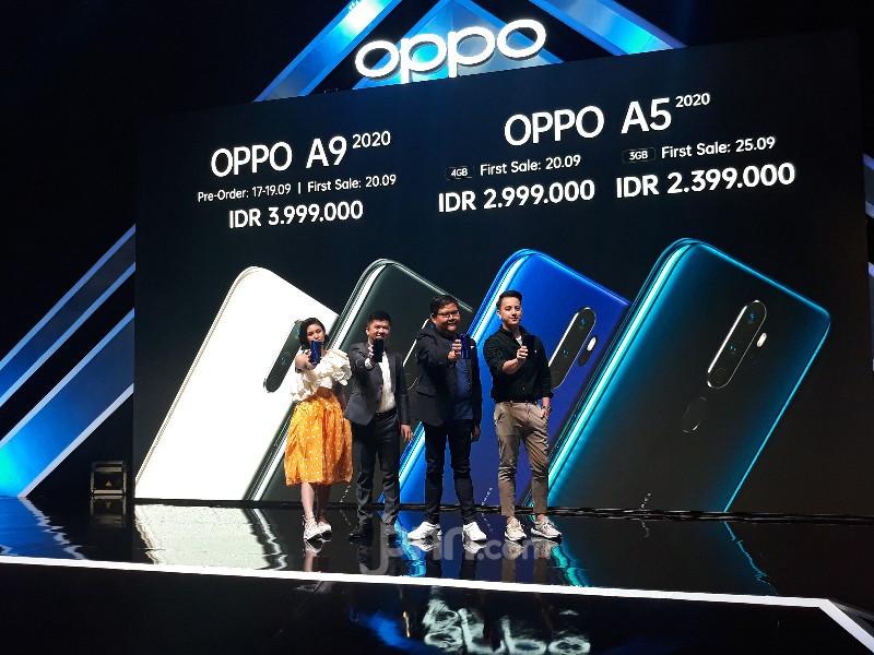 Oppo A9 Dibekali 4 Kamera, Harga Rp 3 Jutaan - JPNN.com