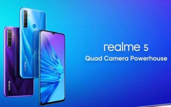 Realme 5 Pro, Ponsel 4 Kamera dengan Harga Rp 3 Jutaan - JPNN.com