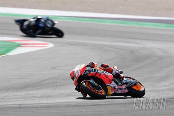 Marc Marquez Langsung Gila di FP1 MotoGP Aragon - JPNN.com
