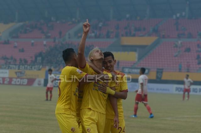 Kalahkan Persibat Batang, Sriwijaya FC Makin Kukuh di Puncak Klasemen
