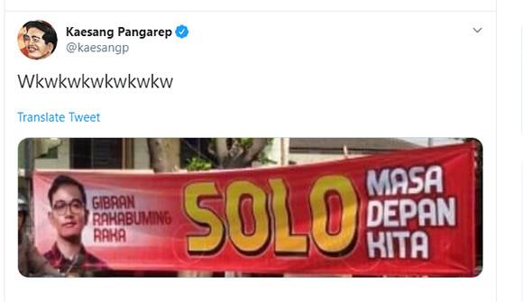 Respons NasDem soal Nama 2 Putra Jokowi di Bursa Pilwako Solo