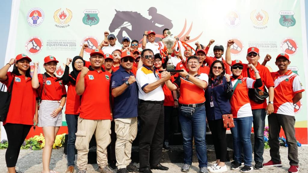 Sabet 4 Medali Emas, DKI Jakarta Rebut Juara Umum Kejurnas Equestrian 2019 - JPNN.com