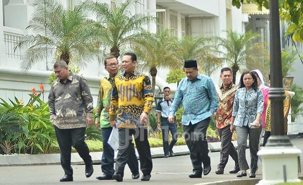 Jokowi Undang Pimpinan DPR ke Istana