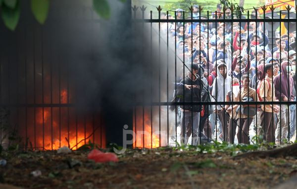 5 Peristiwa Politik Terhangat 2019: Demo Rusuh di Senayan Hingga Prabowo jadi Menhan - JPNN.com