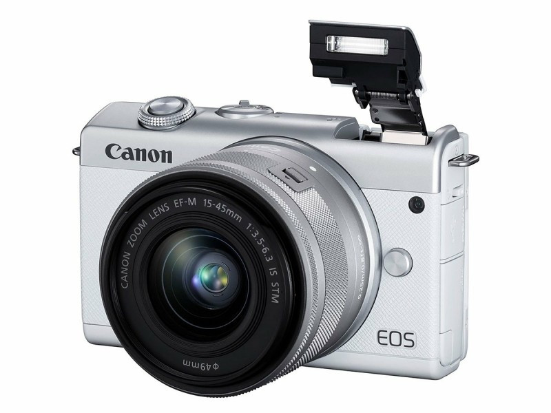 Kamera Mirrorles Canon EOS M200 Sudah Diberkati Teknologi Digic 8 - JPNN.com