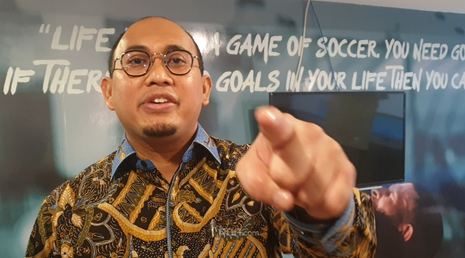 Bang Andre Serang Ahok, Joman: Pak Prabowo Sudah Layak Mencopot Dia dari DPR - JPNN.com