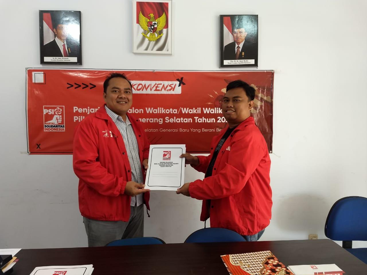 Kokok Dirgantoro Ikut Konvensi PSI untuk Calon Wali Kota Tangsel 2020 - JPNN.com