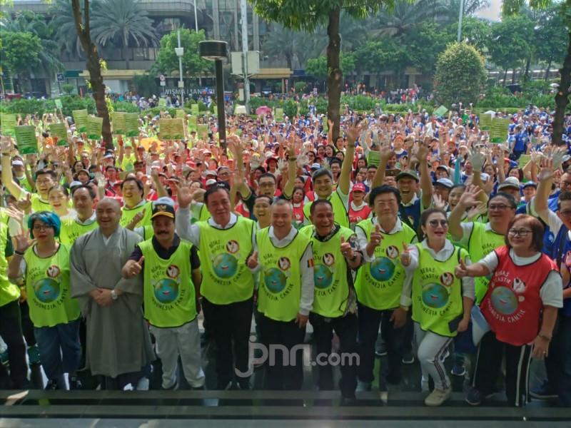 GPSK dan Permabudhi Ajak 1.500 Relawan Kampanyekan Bebas Plastik Indonesia Cantik - JPNN.com