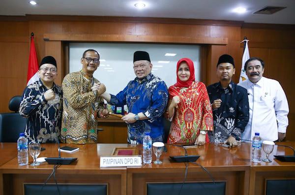 Inilah Nama-nama Pimpinan Alat Kelengkapan DPD Periode 2019-2020 - JPNN.com